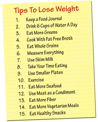 Weight Watchers Tips to Lose Weight - Skinnytaste