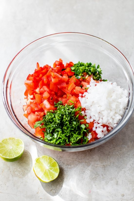 fresh salsa ingredients