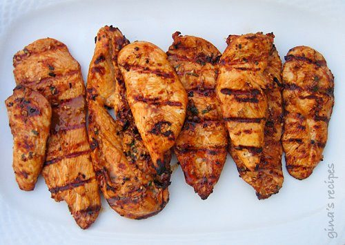This super simple and quick Asian grilled chicken is the perfect excuse get outside and use my grill this Spring!