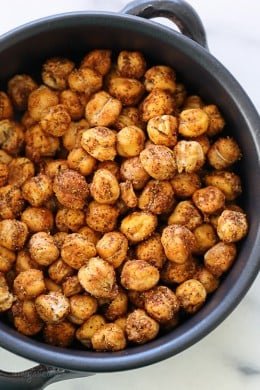 Roasted Chickpea Snack – a healthy, protein-packed snack!