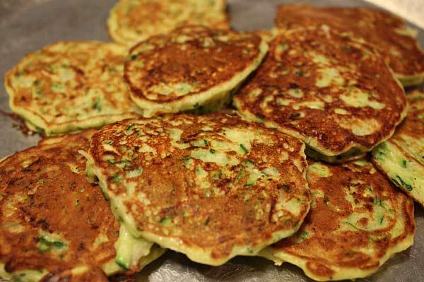 Zucchini Pancakes Skinnytaste