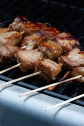 If you want to make a delicious recipe at your next BBQ that will wow everyone, these Filipino BBQ Skewers are it. I've tried this marinade on beef, pork and chicken and it's great on everything!