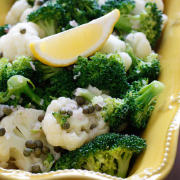 A quick and easy salad, perfect for the warmer weather or if you're looking for a different way to make broccoli. This lemon vinaigrette makes any vegetable taste delicious.