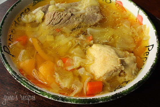 Cabbage Soup With Chicken And Pork Skinnytaste