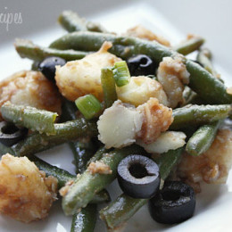 string-bean-and-potato-salad