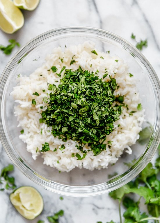Instant Pot Cilantro Lime Rice