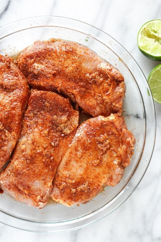 These Garlic Lime Pork Chops Are So Easy To Make And They Only Take 10