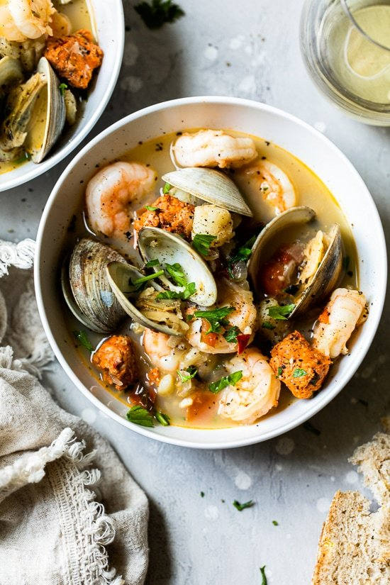 Portuguese Seafood Stew