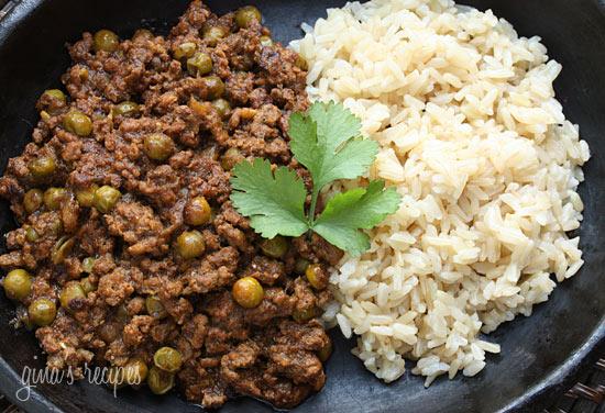 Lamb Kheema with Peas