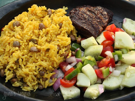 Arroz Con Gandules (Rice and Pigeon Peas)