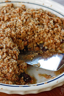 Skinnytaste delicious healthy recipes made with real food part 134 cinnamon apple crisp forumfinder Images