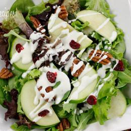 goat-cheese-honey-salad