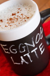 Eggnog-Latte