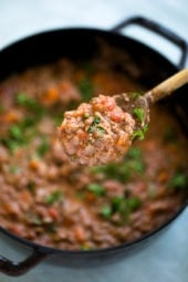 This is the BEST Bolognese Sauce Recipe, and it's easy to make. It's a staple in my home, I make a big batch and have meals for several nights.