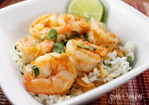 Garlic Shrimp Skinnytaste