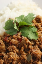 Turkey Picadillo is a lighter alternative to traditional Cuban beef picadillo. It's great with rice and plantains, or as a filling for empanadas, tacos, stuffed peppers and more.