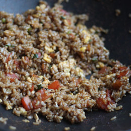 Brown-fried-rice
