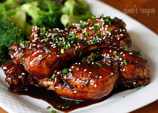Asian Glazed Drumsticks Skinnytaste