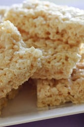 Low-fat-rice-krispy-treats