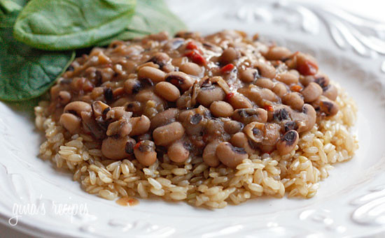 Slow Cooked Black Eyed Peas With Ham Skinnytaste