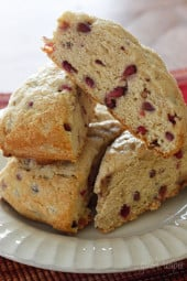 low-fat-pomegranate-scones