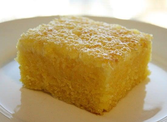 Brazilian Cornmeal Cake Recipe
