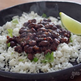 Cuban-Style Black Bean Bowls Recipe — Dishmaps
