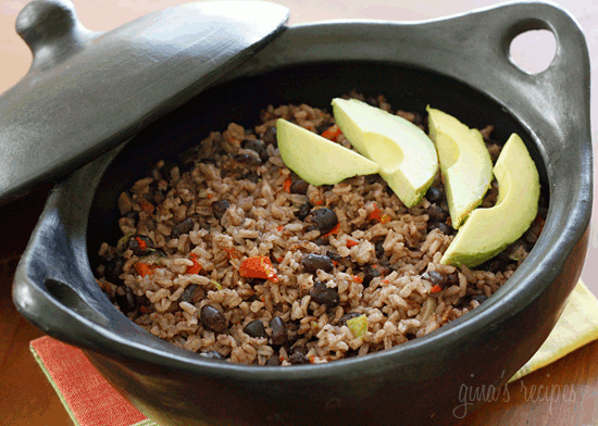Arroz Congri (Cuban Rice and Black Beans) | Skinnytaste