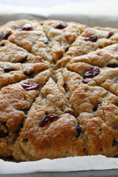 lemon-cranberry-scones