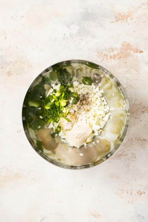 Half Yolk Egg Salad