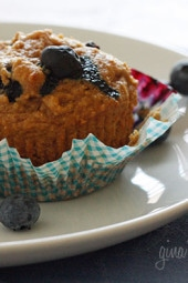 low-fat-whole-wheat-blueberry-muffins