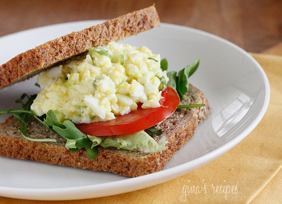 Skinny Low Yolk Egg Salad Skinnytaste
