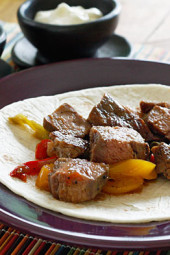 Have a backyard fiesta and make it a fajita party! These steak fajitas are easy enough to make as a weeknight meal, or fun to create a theme party and serve up all your favorite Mexican appetizers.
