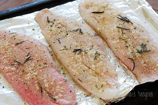 Roasted snapper fillet and sustainable seafood skinnytaste for Baking frozen fish