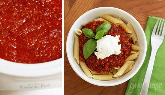 Pasta recipes using crock pot