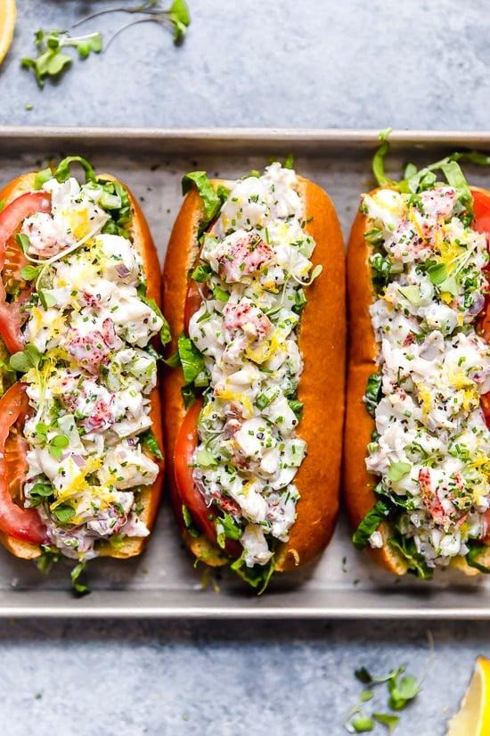 Easy Lobster Roll Recipe Skinnytaste