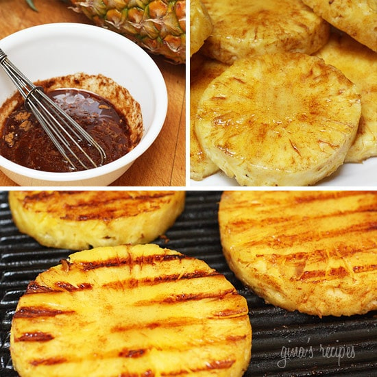 Grilled Pineapple Ring Calories