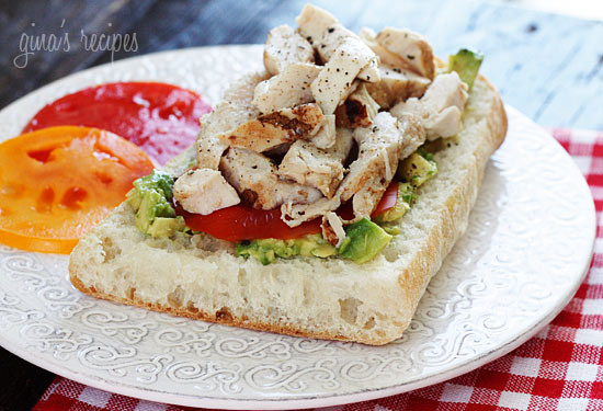 Image result for open sandwich chicken