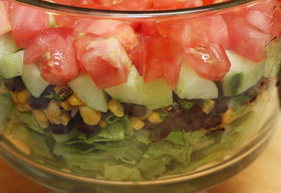 Mexican Shrimp Cobb Salad   Skinnytaste