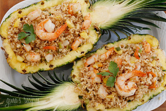 Pineapple shrimp fried rice skinnytaste ccuart Image collections