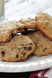 This Low-Fat Chocolate Chip Cookies are soft and chewy, and satisfy my craving when I need something sweet.