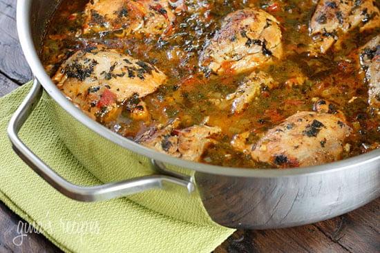 Sofrito Chicken Stew Skinnytaste