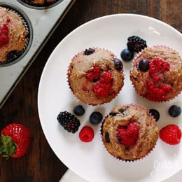 Mixed-Berry-Muffins