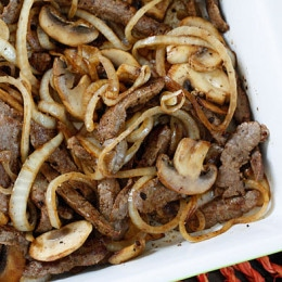 This quick and easy skillet steak dish takes just minutes to make!