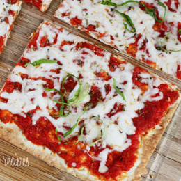 If you like thin crust pizza, you'll love these super easy Lavash flatbread pizzas! Kids love them and they take only minutes to prepare.