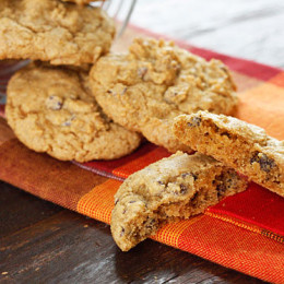 Low-fat-Pumpkin-Spiced-Chocolate-Chip-Cookies