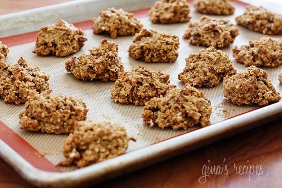 Low Fat Pumpkin Oatmeal Cookies 28