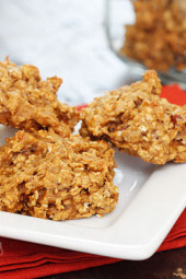 Low-fat-pumpkin-oatmeal-pecan-cookies