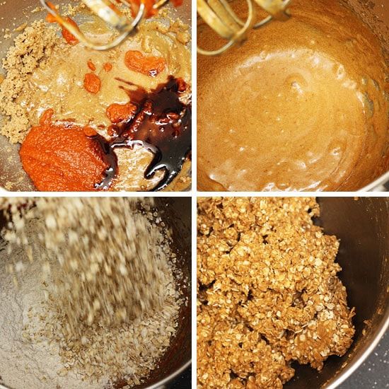 ... just combined and no streaks of flour remain; stir in the pecans