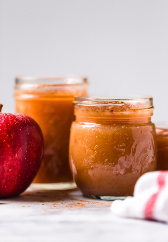 Crock Pot Applesauce – Homemade apple sauce doesn't get easier than using your slow cooker!!